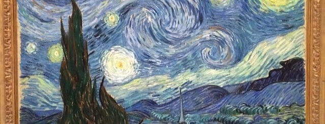 MoMA Starry Night by Vincent Van Gogh is one of Orte, die Will gefallen.