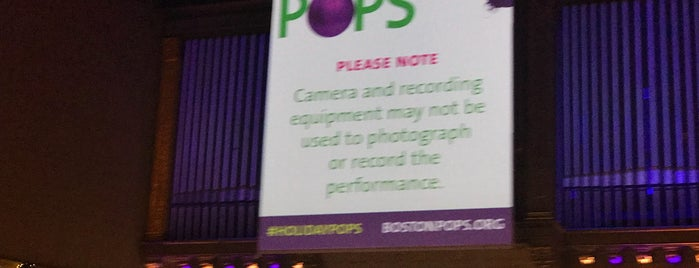 Symphony Hall is one of สถานที่ที่ Don ถูกใจ.