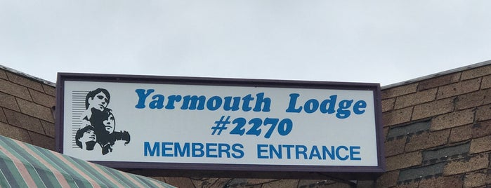 2270 Yarmouth Moose Lodge is one of สถานที่ที่ Don ถูกใจ.