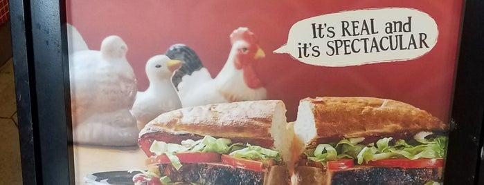 Potbelly Sandwich Shop is one of Locais curtidos por Matt.