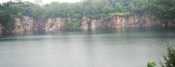 Ubin Quarry Lake is one of Tempat yang Disimpan Mark.
