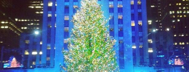 Rockefeller Center Christmas Tree is one of Big Apple.