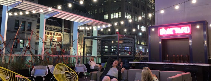 Aloft Philadelphia Downtown is one of Trivia/Game Night/Arcade Activities.