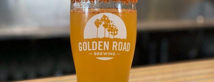 Golden Road Brewery is one of สถานที่ที่ Larry ถูกใจ.