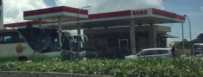 Esso is one of @Bentong, Pahang.