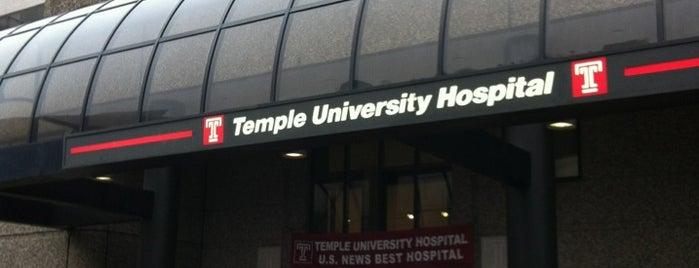 Temple University Hospital is one of Locais curtidos por Stan.