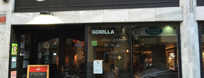 Gorilla is one of Places to visit in Barcelona.