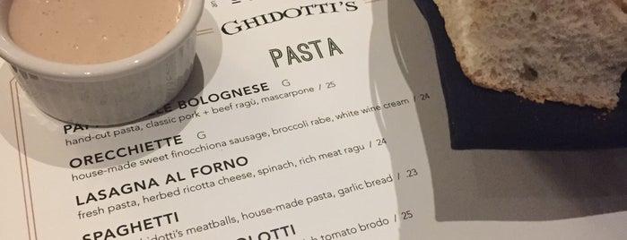 Ghidotti's is one of Locais curtidos por Elaine.