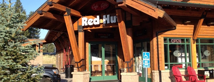 The Red Hut Café is one of Tahoe.