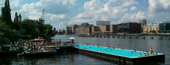 Badeschiff Berlin is one of 50 Best Swimming Pools in the World.