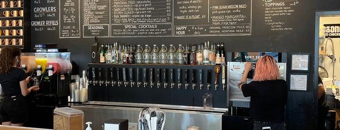 Rachel's Ginger Beer is one of Seattle.