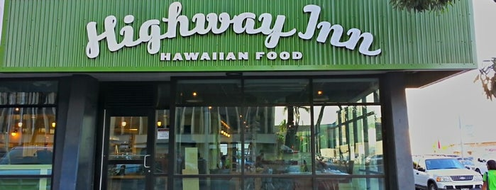 Highway Inn is one of Honolulu Recommendations.
