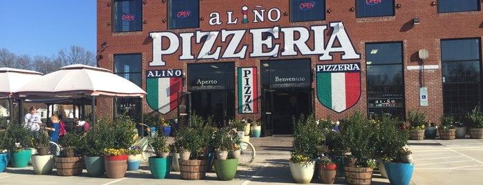 Alino Pizzeria is one of To Do.