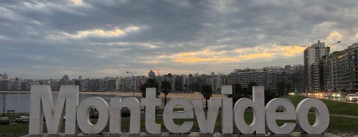 Letrero Montevideo is one of Mis preferidos - Montevideo.