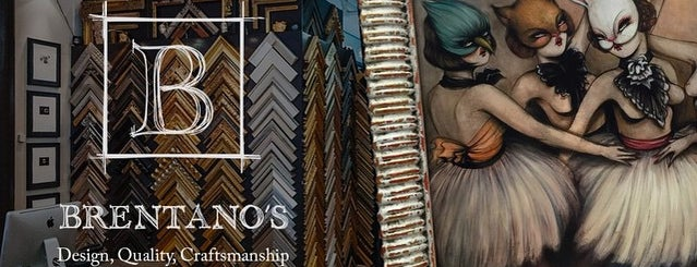Brentano's is one of NYC 5.