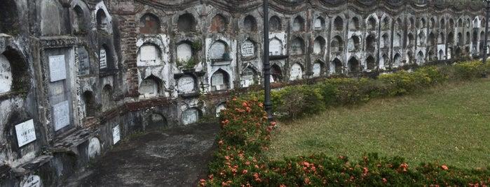 Nagcarlan Underground Cemetery is one of Kenn R : понравившиеся места.