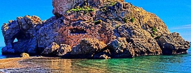 Playa Peñón del Cuervo is one of Malaga.