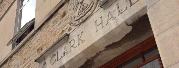 Clark Hall Pub is one of Lugares guardados de José.