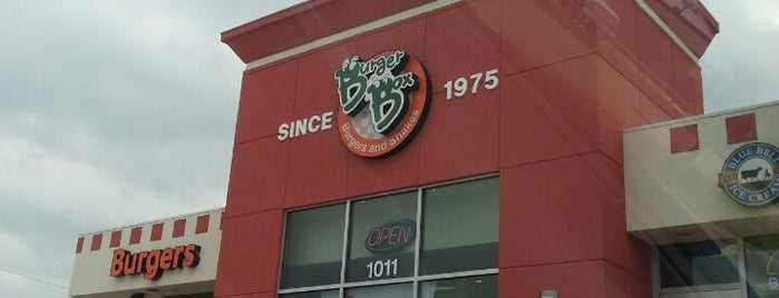 Burger Box is one of สถานที่ที่ KATIE ถูกใจ.