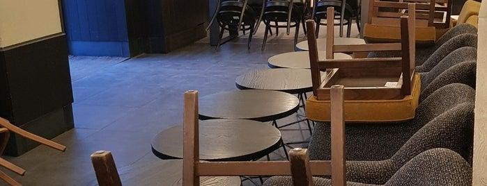 Starbucks is one of Будапешт - Кофе (посещено).
