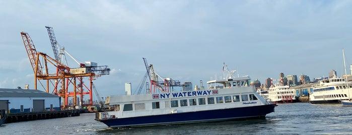 NY Waterway Ferry - Red Hook/Atlantic Basin Terminal is one of Tempat yang Disukai IrmaZandl.