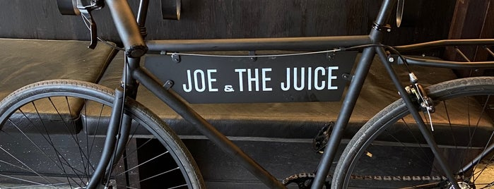JOE & THE JUICE is one of Lieux sauvegardés par Lizzie.