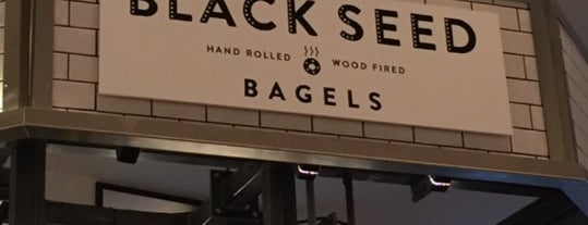 Black Seed Bagels is one of GF.