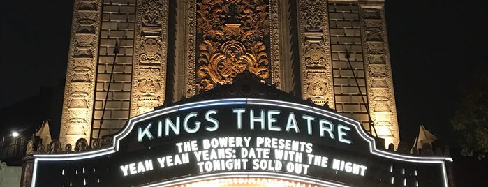 Kings Theatre is one of Architecture - Great architectural experiences NYC.