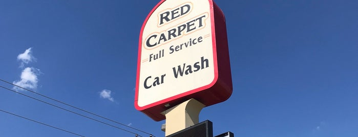 Red Carpet Car Wash is one of Oklahoma places! Favs and must try!.