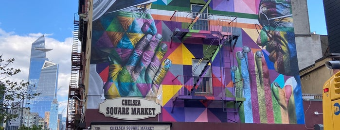 Chelsea Square Market is one of For NYC visitors.