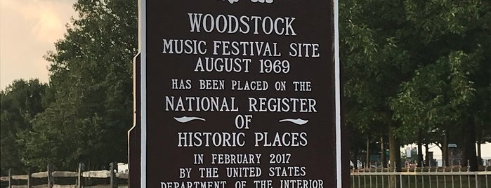 Woodstock Original Site is one of New York Favs.