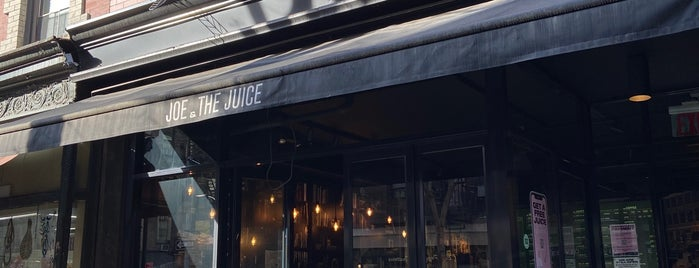 JOE & THE JUICE is one of NYC Places.