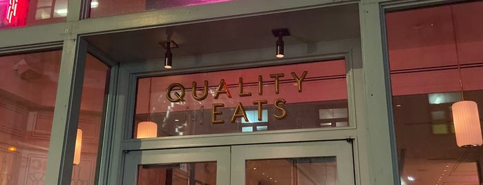 Quality Eats is one of RICARDO EATS 2018 🍽.