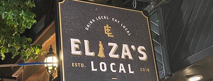 Eliza's Local is one of New York.