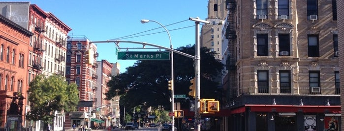 St. Mark's Place is one of NEW YORK CITY : Manhattan in 10 days! #NYC enjoy.