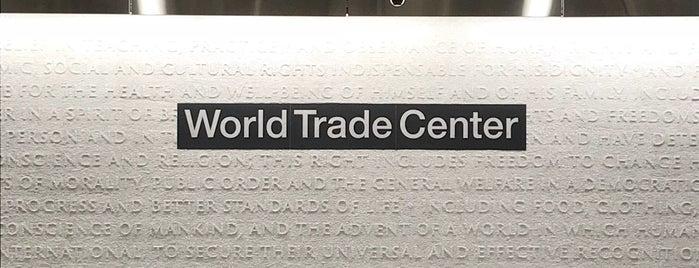 MTA Subway - Cortlandt St WTC (1) is one of Orte, die Pete gefallen.