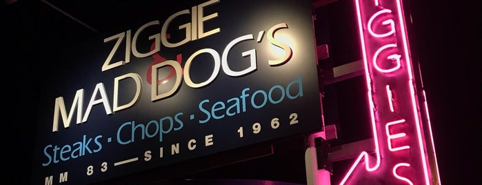 Ziggie & Mad Dog's is one of Key West.