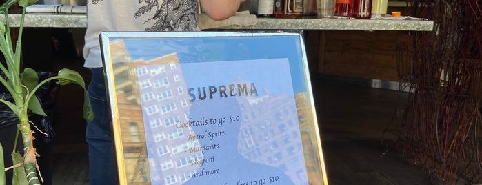 Suprema Provisions is one of Italian.