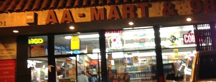 AA Mini Mart is one of Tempat yang Disukai Amaya.