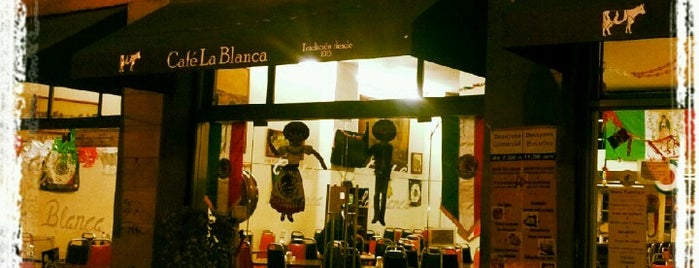 Café La Blanca is one of Locais curtidos por Gustavo.