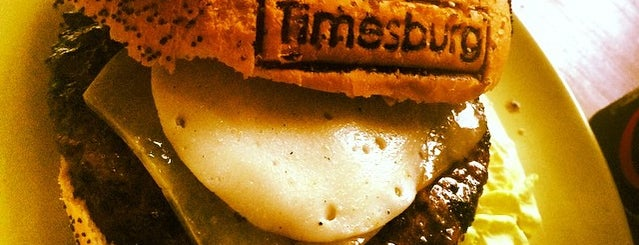 Timesburg is one of Best Burgers in Barcelona.