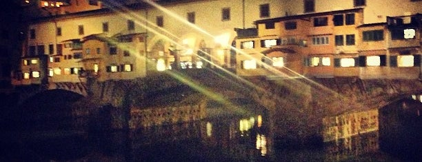 Ponte Vecchio is one of Favorite Places.