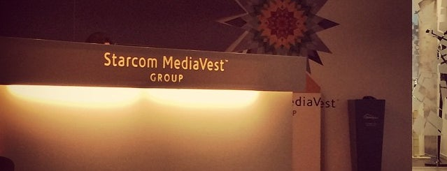 Starcom Mediavest Group is one of David 님이 좋아한 장소.