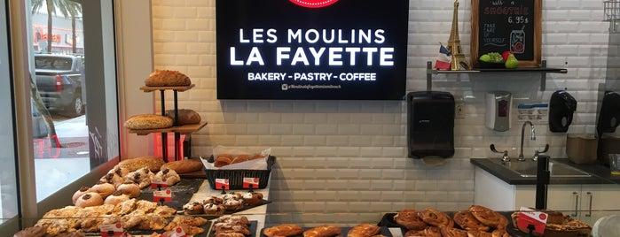 Les Moulins La Fayette is one of Tempat yang Disukai Mike.