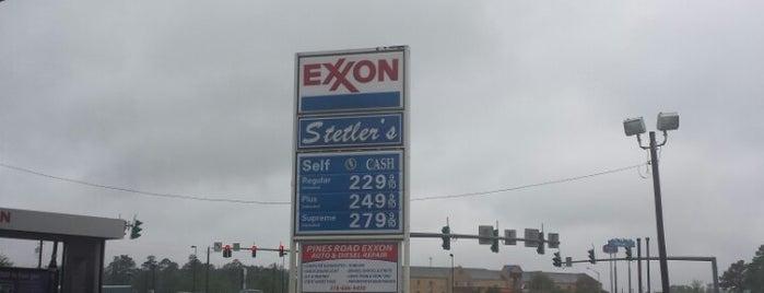 Exxon is one of Orte, die Andrea gefallen.