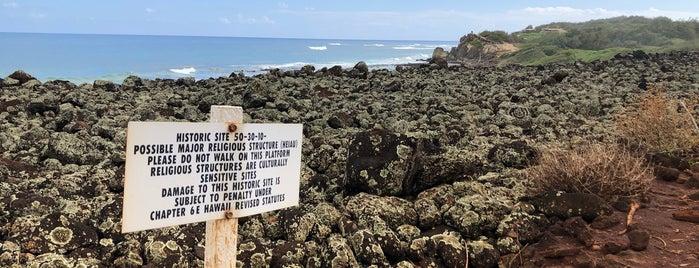Maha'ulepu is one of 🚁 Hawaii 🗺.