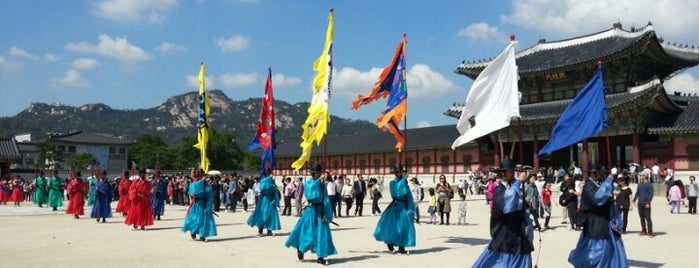 Gyeongbokgung Palace is one of Seoul.