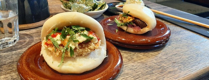 Mr Bao is one of place to try in London.