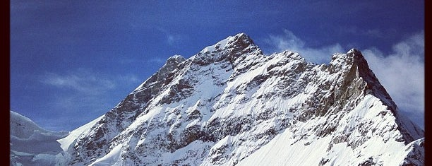 Jungfraujoch (3454m) is one of World Heritage Sites!!!.