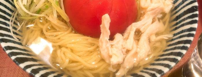 めんや薫寿 弍番屋 is one of Orte, die Cafe gefallen.